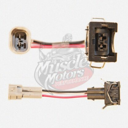 Fuel Injector Adapter Kit (Denso to EV1/Jetronic)