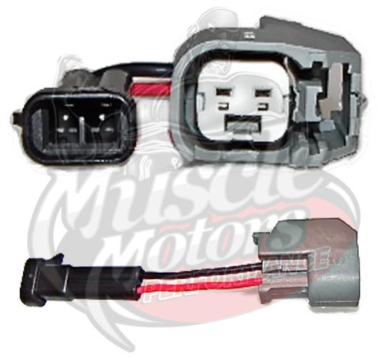 Fuel Injector Adapter Kit (Mini Delphi Male to EV6/USCar Female)